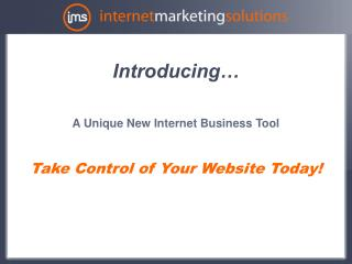 Internet Marketing PowerPoint file