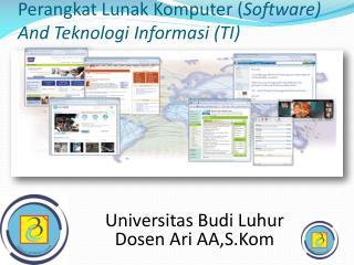 Perangkat Lunak Komputer  ( Software) And  Teknologi Informasi  (TI)