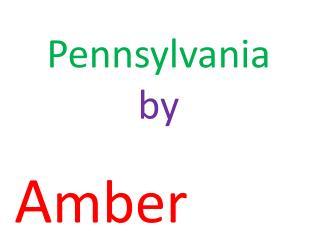 Pennsylvania  by