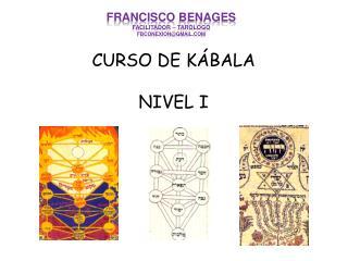 CURSO DE KÁBALA NIVEL I