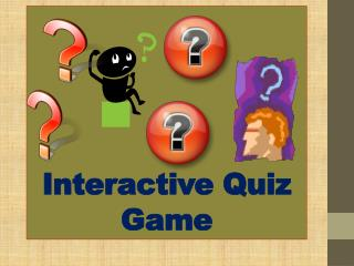 Interactive Quiz Game