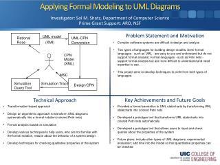 Applying Formal Modeling to UML Diagrams