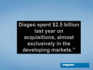 So, Who Is Diageo?