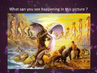 What can you see happening in this picture ?