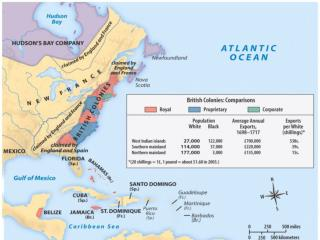 Forced by King James II NE Colonies, NJ & NY Goals Restrict Colonial trade Defend Colonies