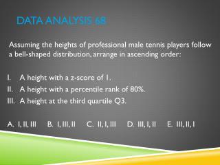 Data Analysis 68