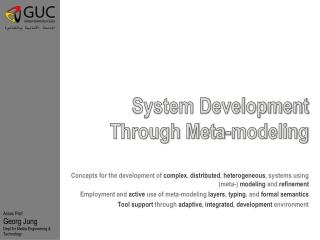 System Development Through Meta-modeling