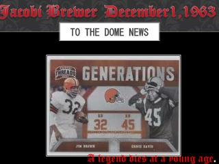 To The Dome News