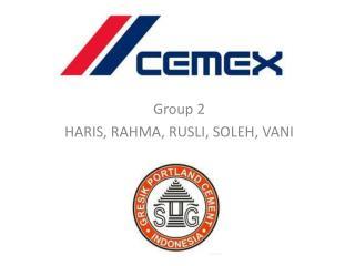 Group 2 HARIS, RAHMA, RUSLI, SOLEH, VANI