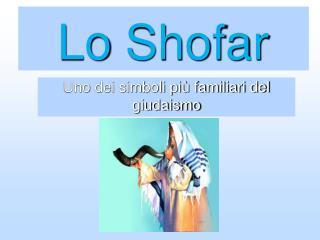 Lo  Shofar
