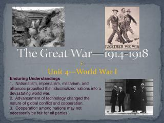 The Great War—1914-1918