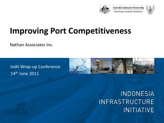 Improving Port Competitiveness