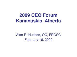2009 CEO Forum