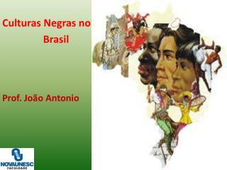 Culturas Negras no B rasil Prof. João Antonio