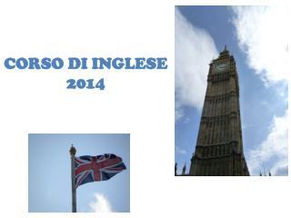 CORSO  DI  INGLESE 2014