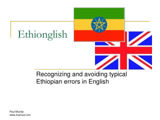 Ethionglish