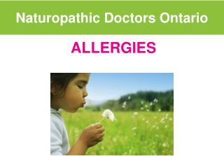 Naturopathic Doctors Ontario