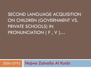 Najwa Zainalla  Al  Kurbi