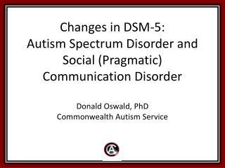 The Goal of DSM-5