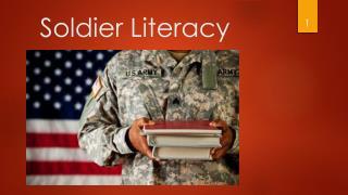Soldier Literacy