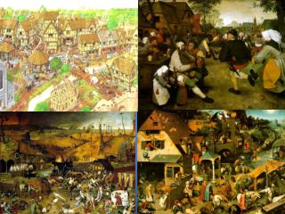 Describe What was life like in a medieval town?