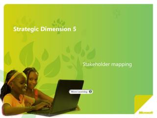 Strategic Dimension 5