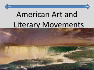 American Art and Literary Movements