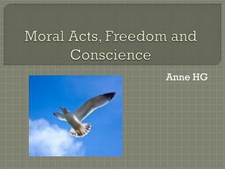 Moral Acts, Freedom and Conscience