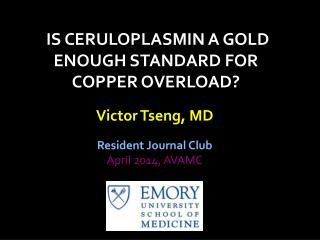Victor Tseng, MD