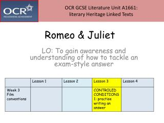 Apostrophe literary term in romeo and juliet