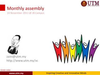 Monthly assembly 14 November 2011 @ JB Campus