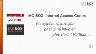 IAC-BOX  Internet Access  Control