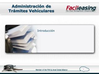 Administración de Trámites  Vehículares