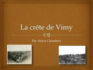 La  crête  de  Vimy
