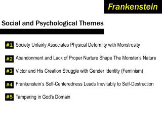 Social and Psychological Themes