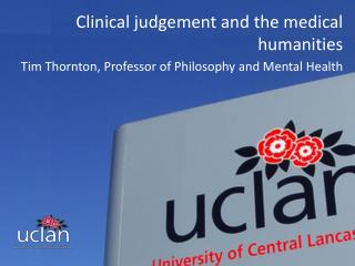 Clinical judgement and the medical humanities