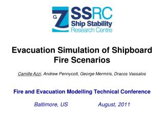 Evacuation Simulation of Shipboard  Fire  Scenarios