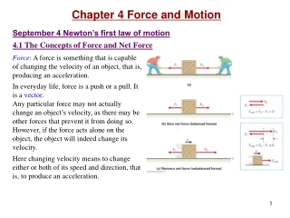 Chapter 4: The Second Law - Concepts