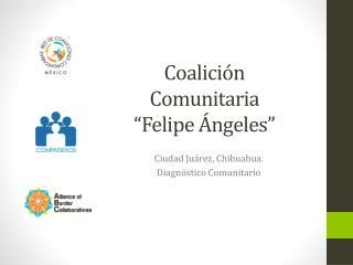 """Coalición Comunitaria """"Felipe  Ángeles"""""""