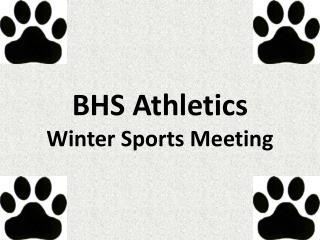 BHS Athletics Winter Sports Meeting