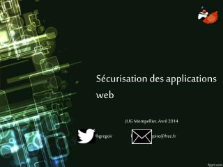Sécurisation des applications web