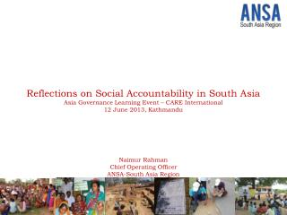 Reflections on Social Accountability in South Asia