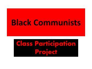 Black Communists