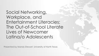 Presented by Mandy Stewart, University of North Texas