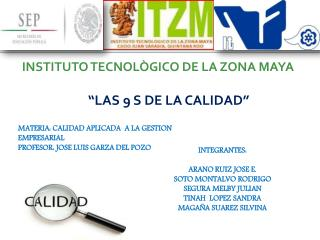 INSTITUTO TECNOLÒGICO DE LA ZONA MAYA