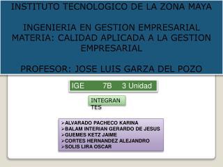 IGE         7B     3 Unidad