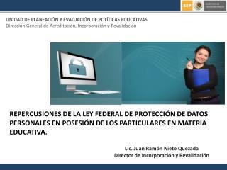 UNIDAD DE PLANEACIÓN Y EVALUACIÓN DE POLÍTICAS EDUCATIVAS
