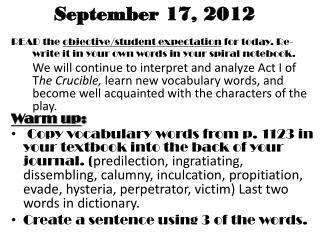 September  17,  2012