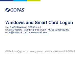 Windows and Smart Card Logon