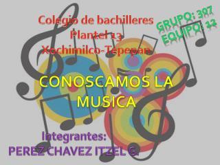 CONOSCAMOS LA MUSICA